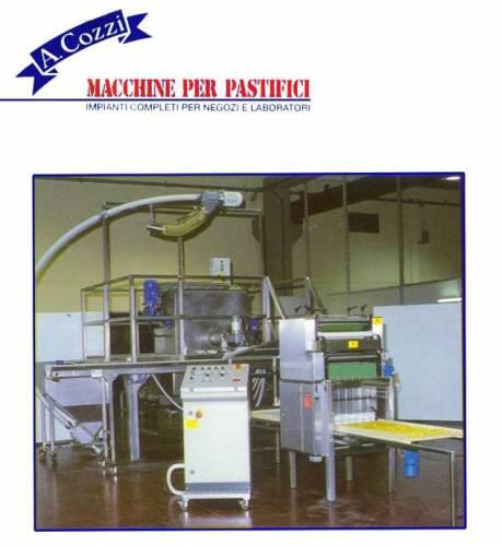 Machines pour nids à pâtes avec massicot automatique