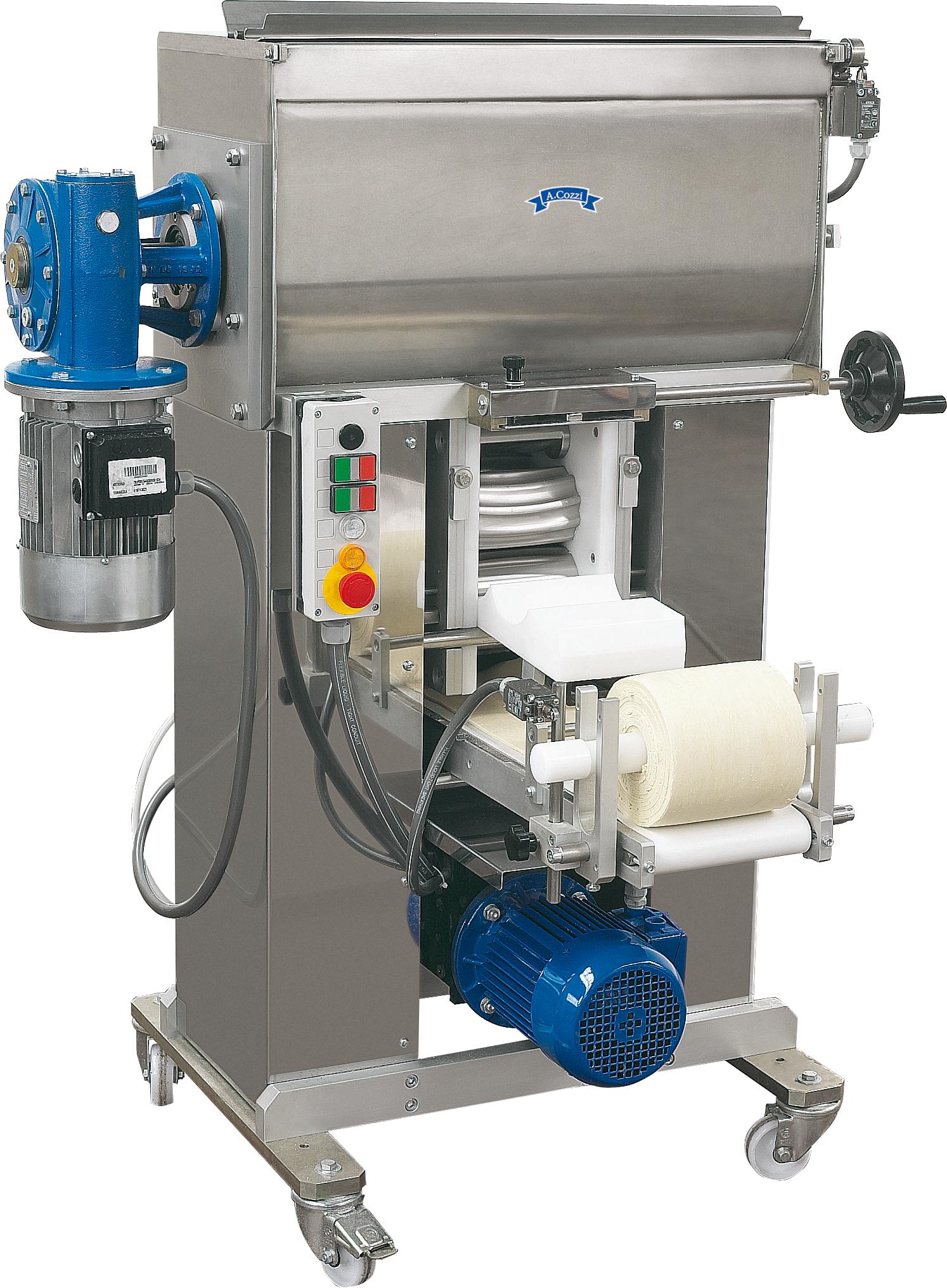 Laminoir automatique à double bol pour la production de pâte