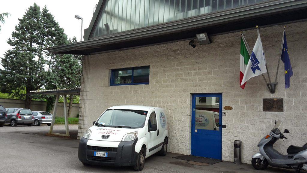 Société Cozzi Pasta Machines, nos bureaux et l'exposition de machines à pâtes neuves et d'occasion