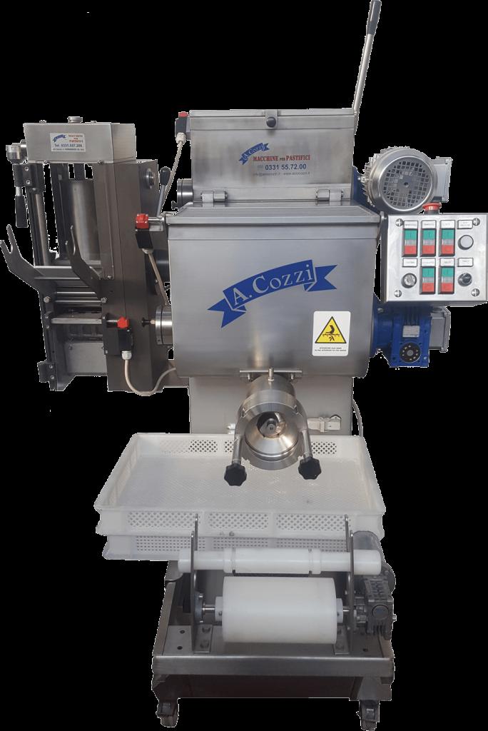 Combiné avec une presse et une machine à raviolis pour pâtes fraîches et raviolis