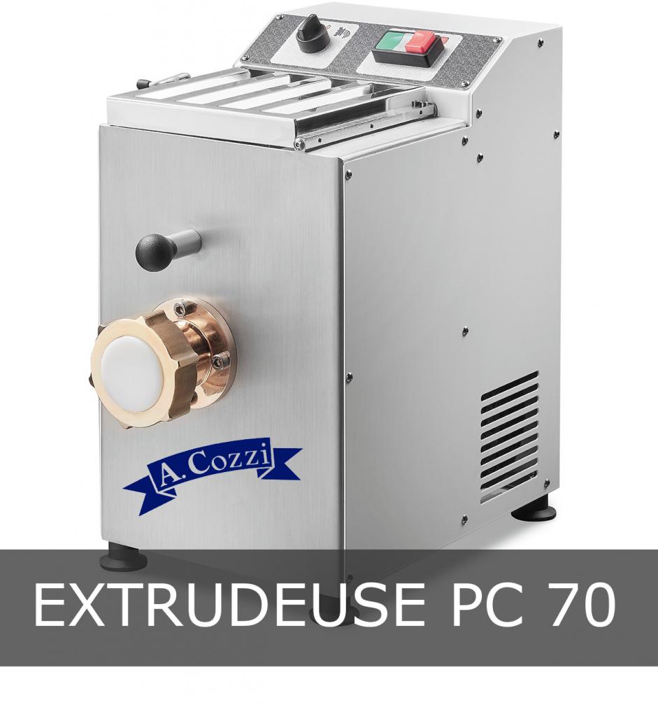 Machine à pâtes extrudées PC 70