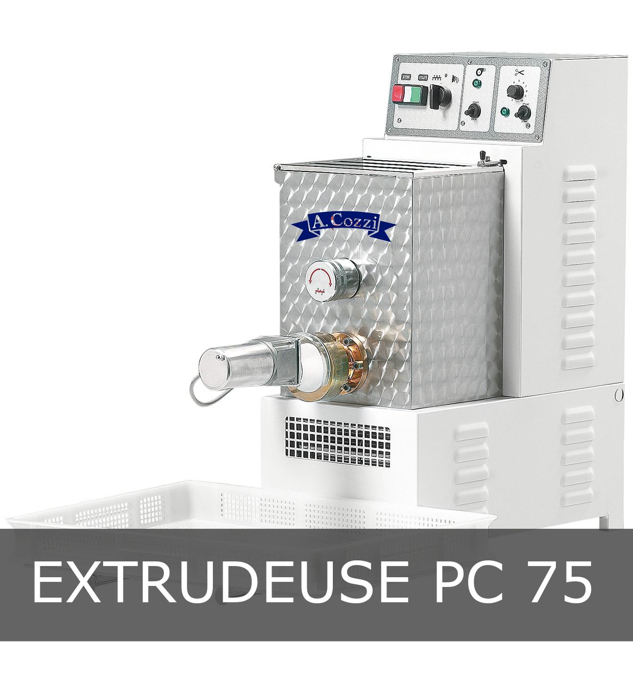 Machine à pâtes extrudées PC 75