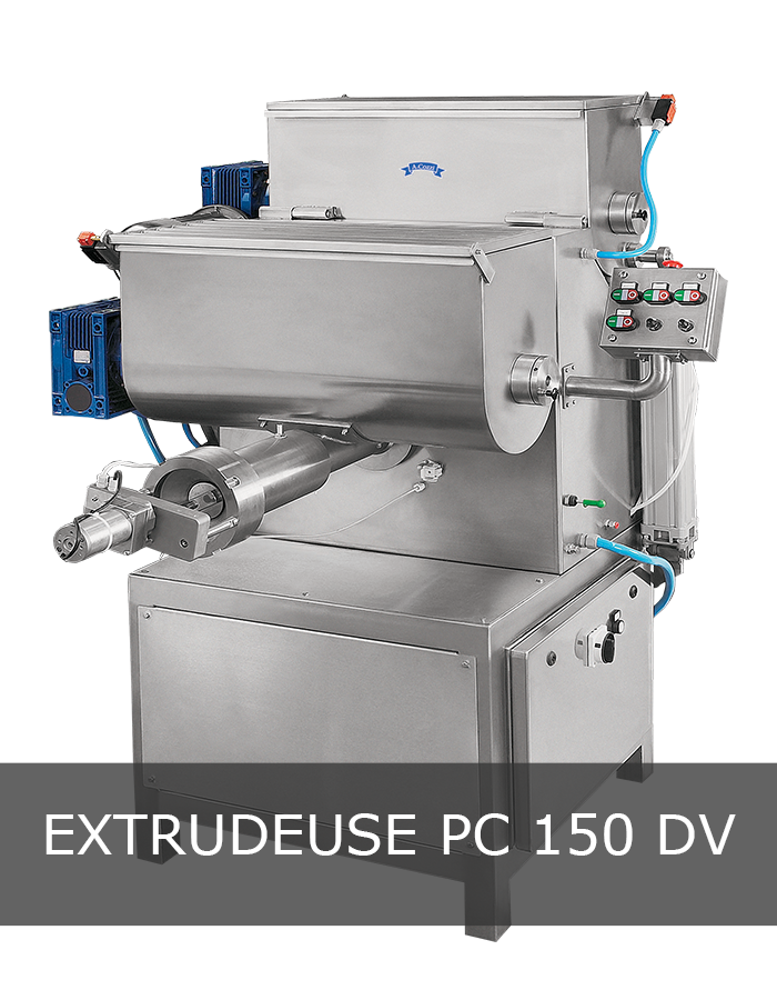 Machine à pâtes extrudées PC 150 DV