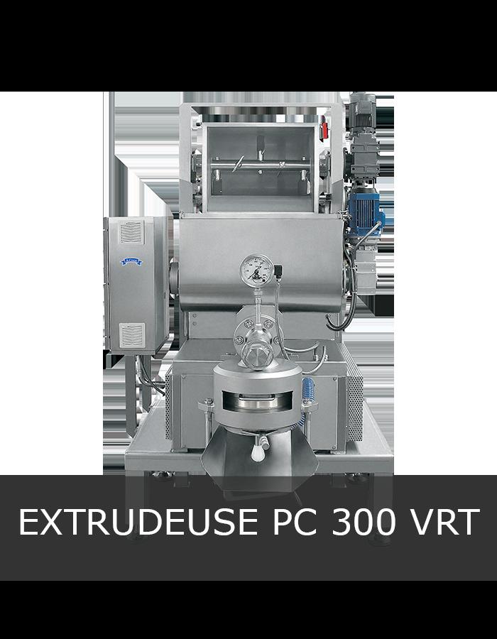 Machine à pâtes extrudées PC 300 VRT