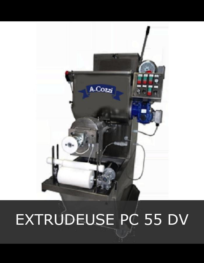 Machine à pâtes extrudées PC 55 DV