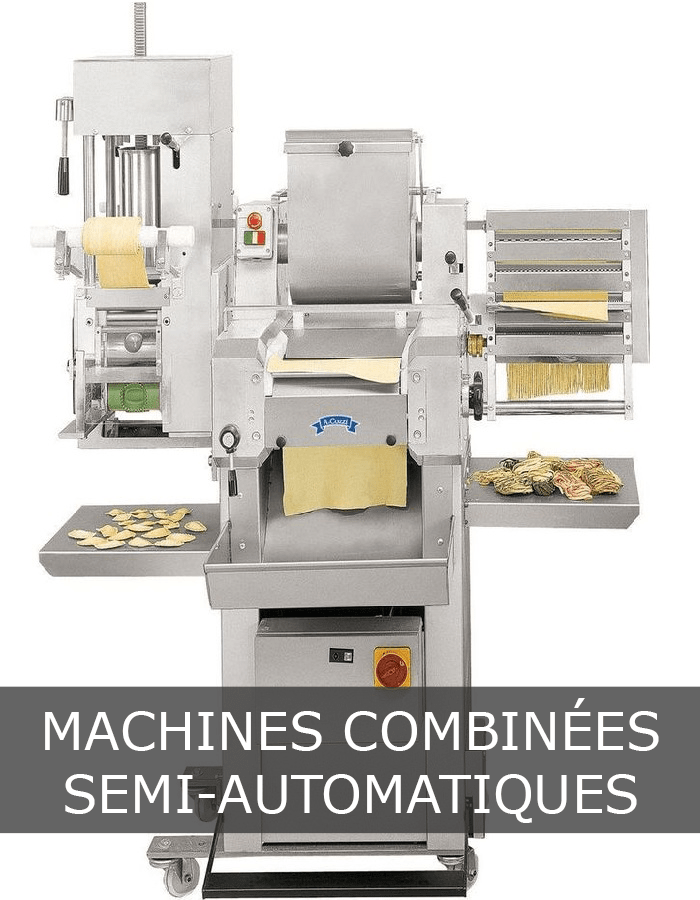 Machines combinees semi-automatiques