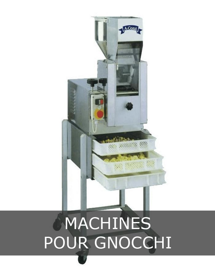 Machines pour gnocchi