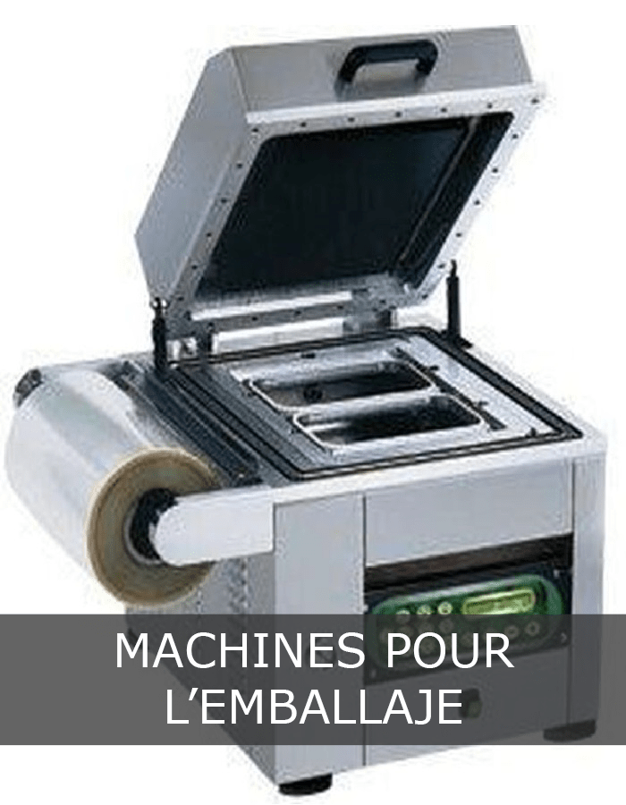 Machines pour l'emballaje